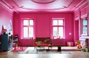 Happiness color: Pink
