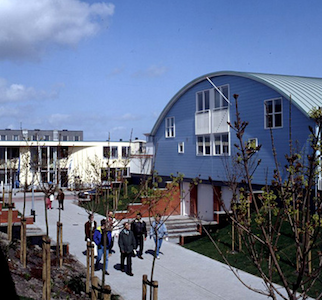 Experimental housing in Almere