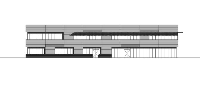 Design for a business centre in Alkmaar. In collaboration with Rijnders Engineering.