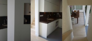 Construction/renovation of a residence in Haarlem.