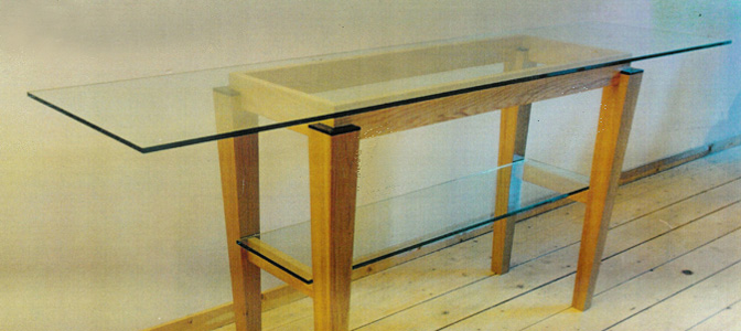 Residence in Amsterdam: table design (1995)