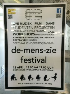 Coming soon: 'De-Mens-Zie' festival, April 12 from 13:00 to 17:00