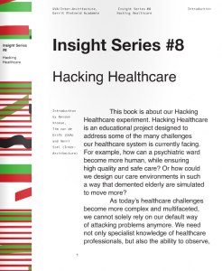 New book: Hacking healthcare, Insight Series #8