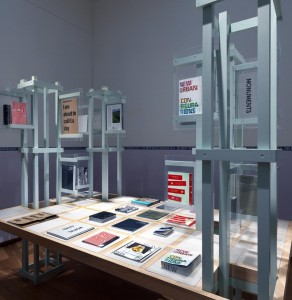 The best designed books 2014 exhibited in the Stedelijk Museum Amsterdam with the book: 'Kon Makandra, Amsterdam-Paramaribo Paramaribo-Amsterdam'