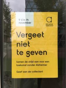 Vergeet niet te geven van 9 t/m 14 november. Ik doe mee u ook (Dutch)?