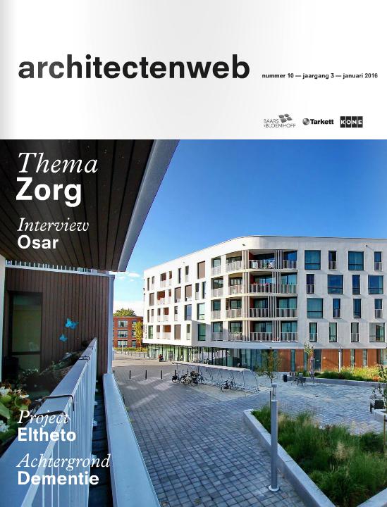 Hands-on ontwerpen voor dementie, interview met Kirsten Hannema in het architectenweb magazine #10 thema zorg (Dutch)