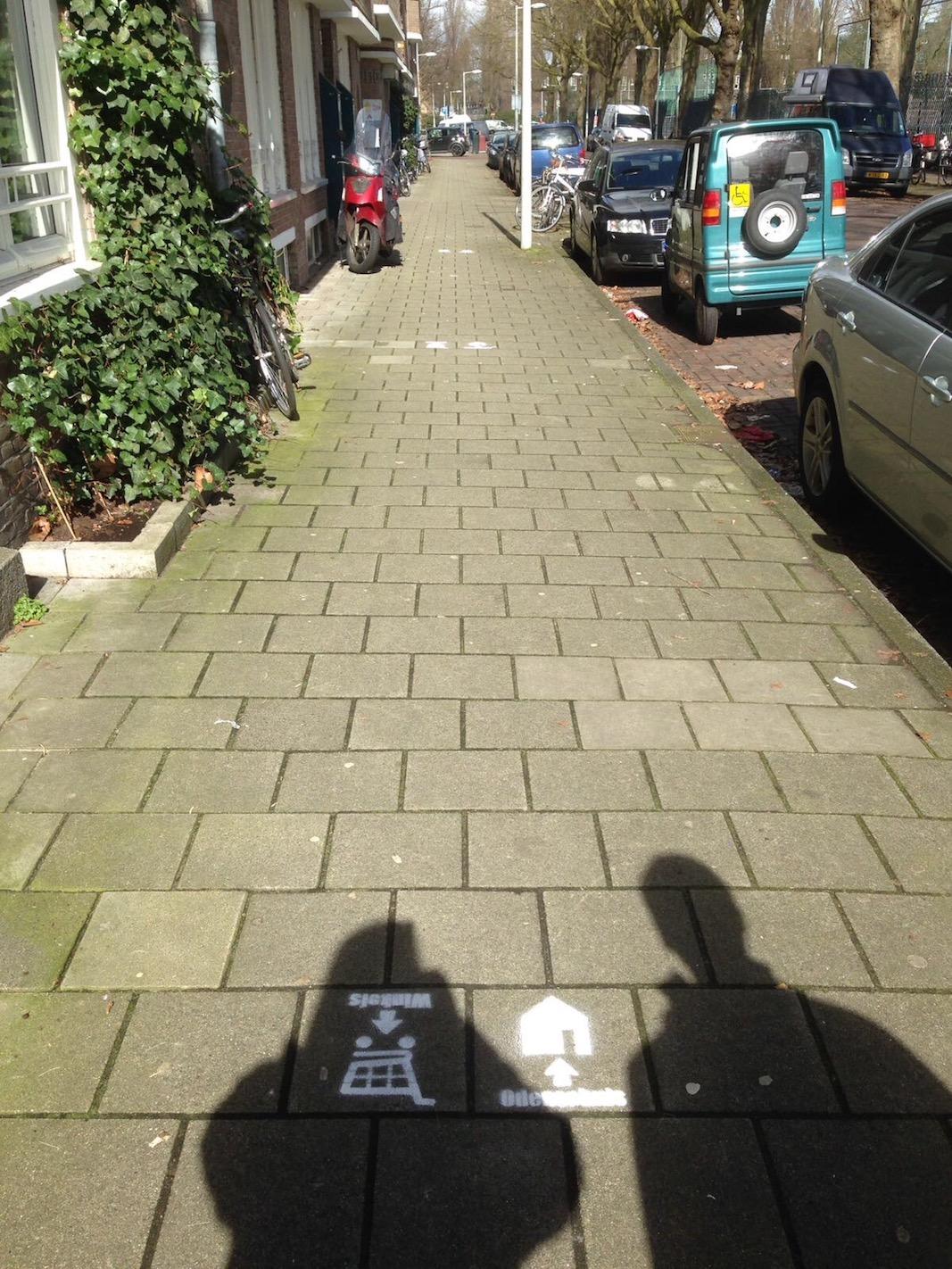 Vervolg boodschappenroute Odensehuis Amsterdam-Zuid (2017)