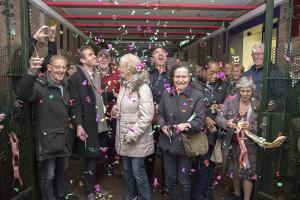 Officiële opening boodschappenroute in Amsterdam-Zuid voor mensen met geheugen problemen (Dutch)
