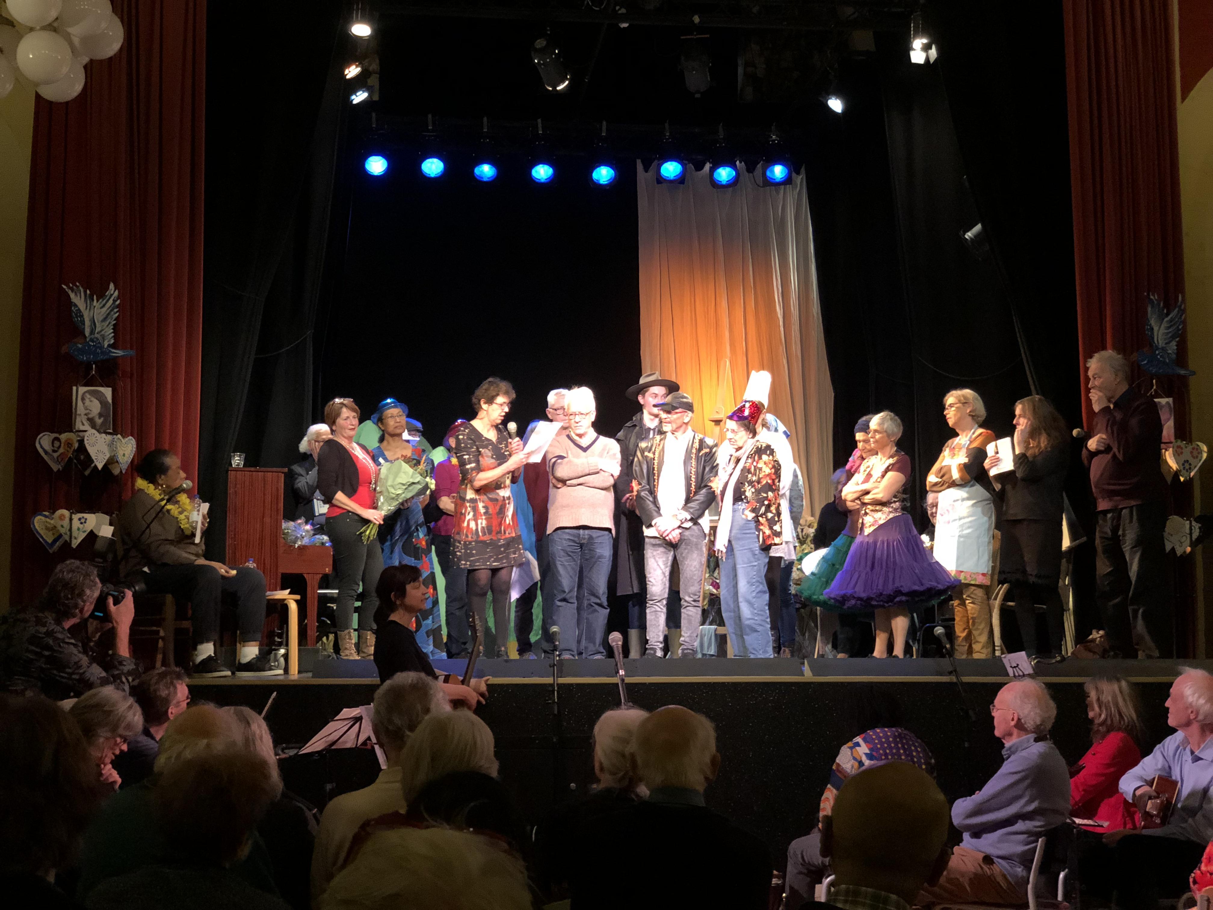 Theatershow voor ELKAnder met het Odensehuis in Amsterdam-Zuid (2018)