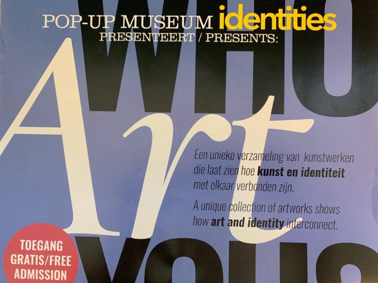 15 oktober vond de informatiebijeenkomst plaats over het Pop-up Museum – Identities – in het Verpleeghuis Vreugdehof van Amstelring te Amsterdam (2018)